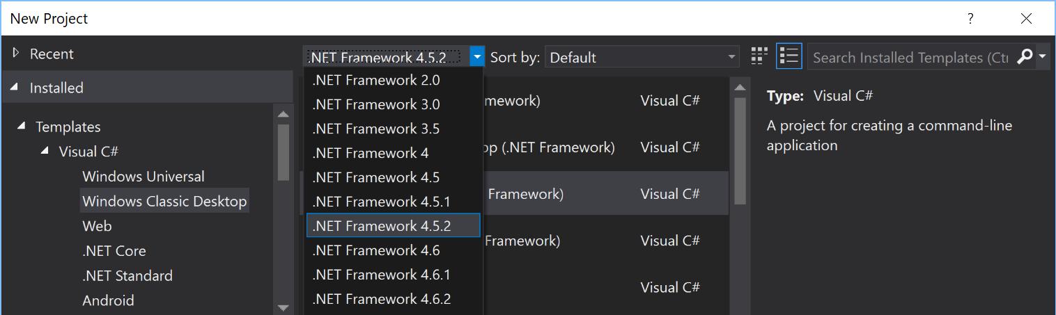 dot net framework 4 7 1